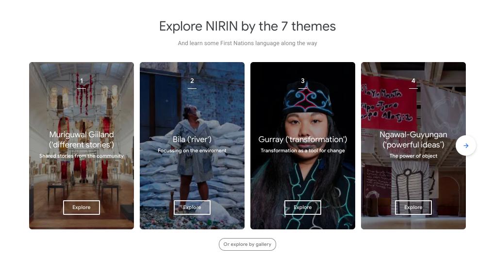 Google Arts and Culture Platform Screenshot