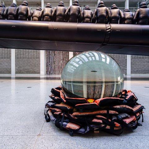 Ai Weiwei, Crystal Ball, 2017