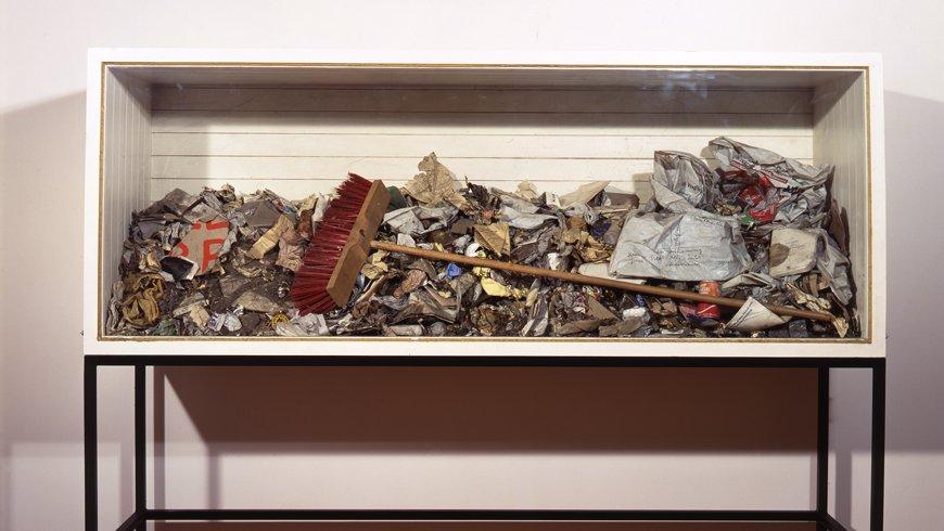 Joseph Beuys, Ausfegen, 1972