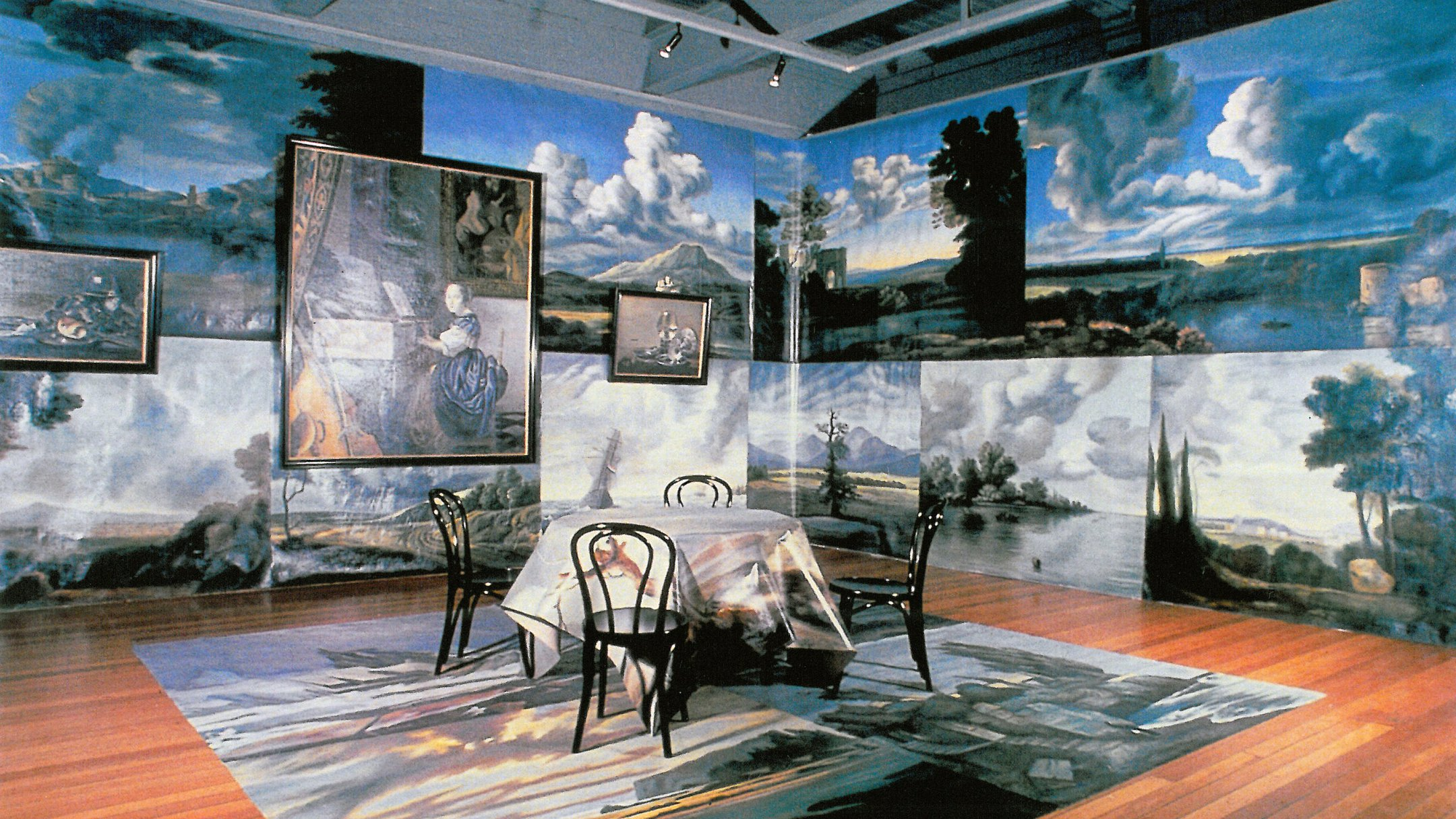 Igor Kopystiansky, Interior, 1992