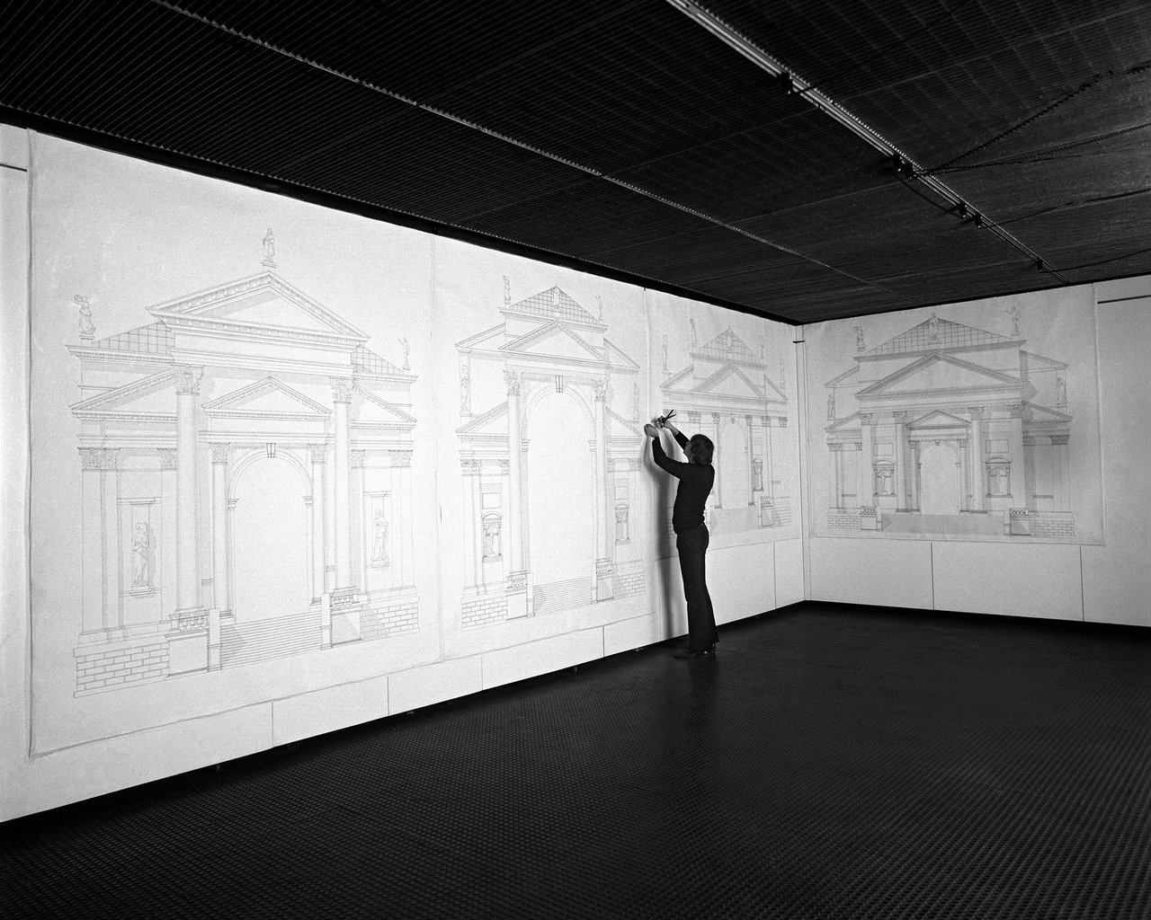 Luciano Fabro, 'Every Order is Contemporaneous of Every Other Order: Four Ways of Examining the Façade of the SS. Redentore in Venice', 1972