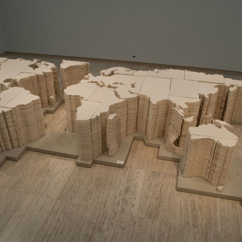 Ai Weiwei, World Map, 2006
