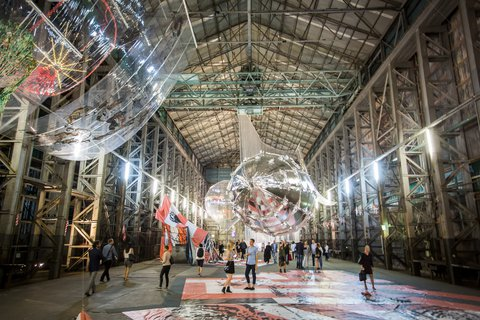 20th Biennale Open Night - Lee Bul, Willing To Be Vulnerable, 2015–16