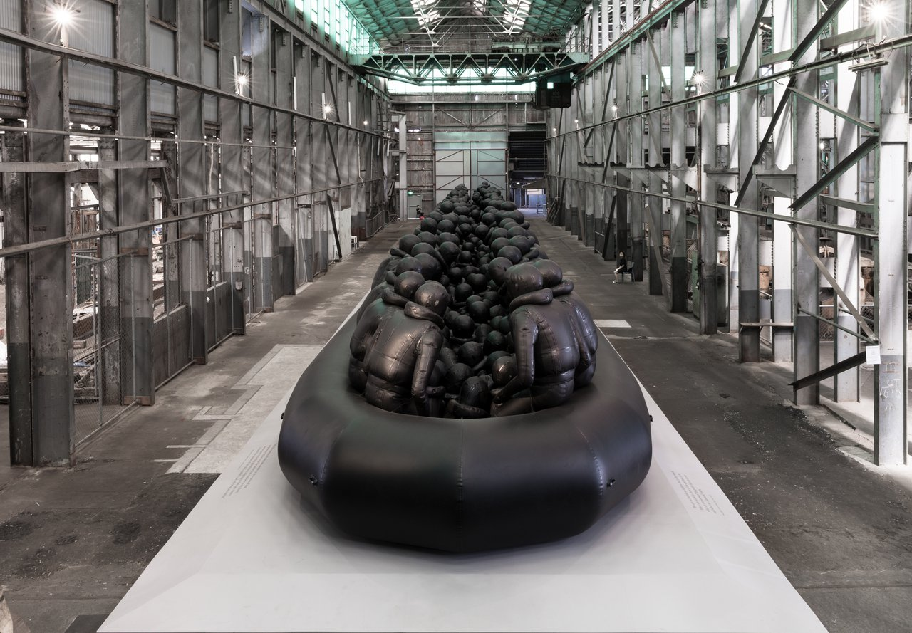 Ai Weiwei, 'Law of the Journey', 2017