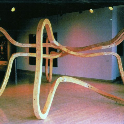 Richard Deacon, Listening to Reason, 1988